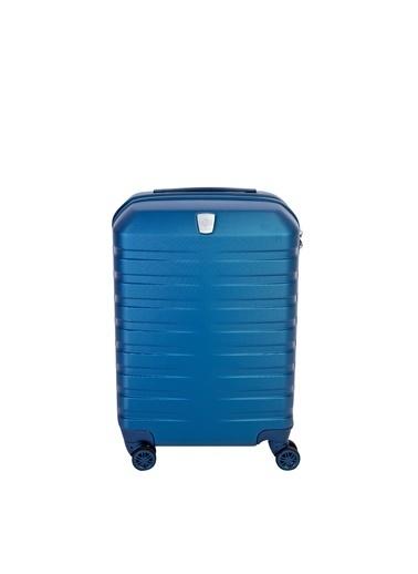 Kiğılı Valiz Mavi